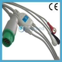 Buy cheap Mennen One piece 3-lead ECG Cable with leadwires from wholesalers