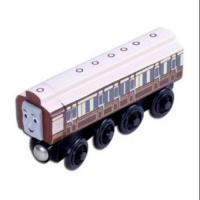 Buy cheap Vehicle Toys White Kids Wooden Bus Toy Old Slow Coach from wholesalers