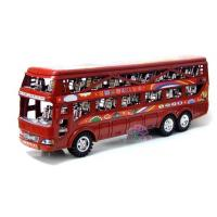 Buy cheap Vehicle Toys Kids Red / Blue Plastic Made Double Decker Bus Toy from wholesalers