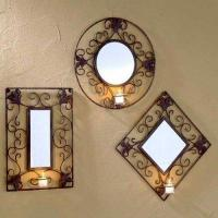 Buy cheap All Candle Sconces Rockwood Mirror Sconce Set - Set of 3 from wholesalers