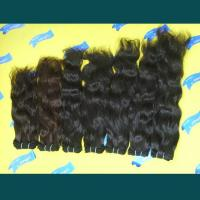 Buy cheap Mongolian Hair weft(78)  High quality full cuticles natual wave hair from wholesalers