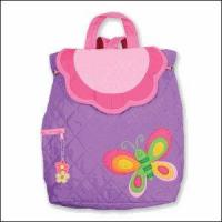 Buy cheap Baby & Kids Gifts, Games & Plush Stephen Joseph Kids Butterfly Purple Quilted Backpack from wholesalers