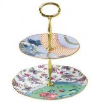 Buy cheap Wedgwood Butterfly Bloom 2-Tier Cake Stand Gift Boxed from wholesalers