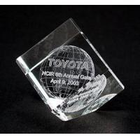 Buy cheap 3D Crystal Cube from wholesalers