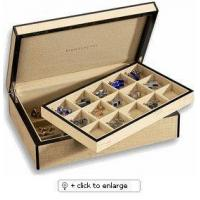 Buy cheap Cufflink Boxes Case 30 Cuff LinksFIDDLEBACK MAPLE from wholesalers
