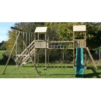 Buy cheap Climbing Frames Arundel Indiana Twin Tower Wooden Climbing Frame from wholesalers