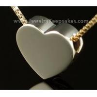 Buy cheap Cremains Pendant 2 Person 14K Gold Sliding Heart (Husband/Wife) (Parents) from wholesalers