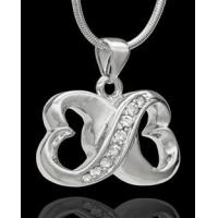 Buy cheap For All Time Hearts Cremation Urn Pendant from wholesalers