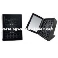 Buy cheap Collector's Series NAME: Ebony Wood 8 Watch Winder with 5 Watches on Storage from wholesalers