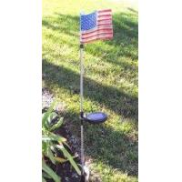 Buy cheap U.S. Flag Solar Garden Stake (Set of 2 Pcs) product