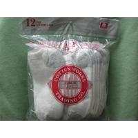 Buy cheap 12 Pair White Cotton Peds Socks for Boys from wholesalers