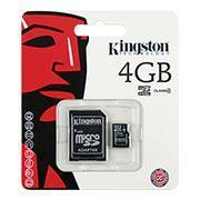 Buy cheap Kingston 4GB Micro SD Card with SD Card Adapter from wholesalers