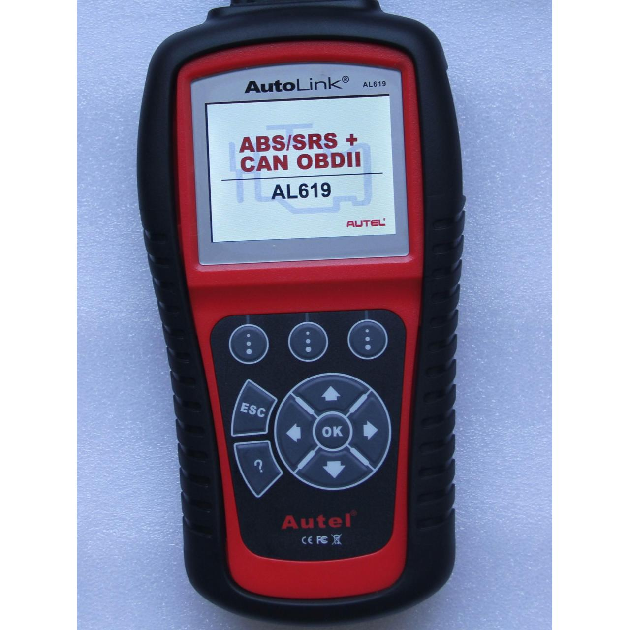 Buy cheap Excellent OBD II Code Reader AutoLink?AL619 ABS/SRS + CAN OBD II Diagnostic Tool from wholesalers