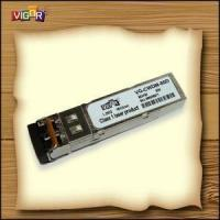 Buy cheap SFP (155M~4G) Transceivers SFP CWDM from wholesalers