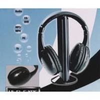 Buy cheap 5 in 1 Wireless Earphone Headphone FM for MP3 PC TV CD from wholesalers