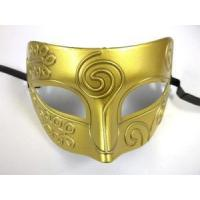 Buy cheap MASKS BRIGHT GOLD Roman Greek Men Venetian Mardi Gras Party Masquerade Mask from wholesalers