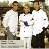 Buy cheap Chef Jacket, Premium, Contrasting Trim, Double Breasted - #5370 from wholesalers