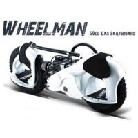 Buy cheap Wheelman 50cc Gas Powered Skateboard White or Black WM-01 from wholesalers