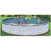 Buy cheap The Quest - 24' Round Swimming Pool with Liner & Skimmer from wholesalers