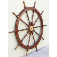Buy cheap Enormous 72 Teak Wooden Boat Ships Wheel Nautical Decor from wholesalers