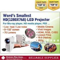 Buy cheap (S) 720P HD LED Projector / Pico Projector (FPC - 55) from wholesalers