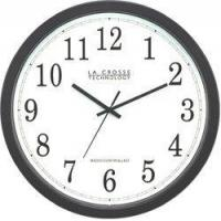 Buy cheap WT-3143A Plastic Analog Clock with Flush Frame 14-inch diameter from wholesalers