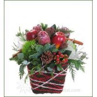 Buy cheap Festive Christmas Flowers Apple Cinnamon Arrangement from wholesalers