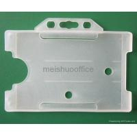 Buy cheap Rigid Identity ID Card Pass Badge Holder Hold 3 Cards from wholesalers
