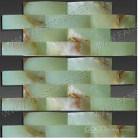 Green onyx mosaic/Big wave series-10
