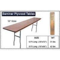 Buy cheap Folding Tables 30 x 96 Plywood Folding Table from wholesalers