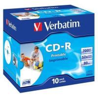 Buy cheap VERBATIM CD-R 52x Fast Dry Inkjet Printable (43325) from wholesalers