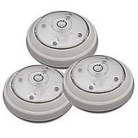 Buy cheap Battery Operated White LED Puck Light (Set of 3) from wholesalers