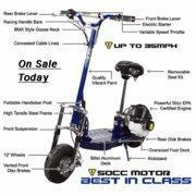 Buy cheap Gas Scooters 50cc W/Suspension & Electric Start (Wonderful Deal) from wholesalers