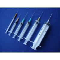 Buy cheap Medical Disposable Three Parts Syringe from wholesalers