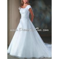 Buy cheap Modest Wedding Dresses Tulle Satin Wedding Dress (NARCISSE D34) from wholesalers