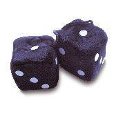 Buy cheap Black Furry Dice from wholesalers