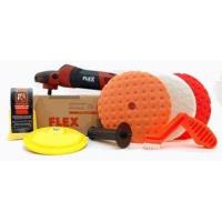 Buy cheap FLEX PE14-2-150 Rotary Polisher Starter Kit With FREE FLEX Bag from wholesalers