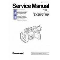 Buy cheap Panasonic AG-DVX100P Mini DV Camcorder Digital Camcorder Service Manual PDF from wholesalers