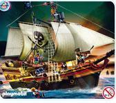 Buy cheap TOY: PLAYMOBIL PIRATE ATTACK SHIP from wholesalers