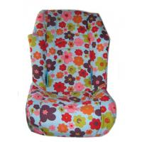 Buy cheap Blue retro flowers toddler car seat cover custom boutique fits britax regent husky chic-covers from wholesalers