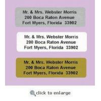 Buy cheap 250 Mini Personalized Address Labels from wholesalers
