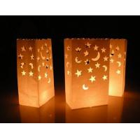Buy cheap Fire retardant paper candle bags from wholesalers