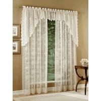 Buy cheap Hopewell Lace Curtain Panel, Lace Balloon Shade, Valance, and Swag from wholesalers