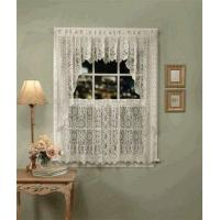 Buy cheap Hopewell Lace Kitchen Curtains, Valance, and Swag from wholesalers