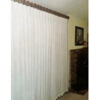 Buy cheap Canton 100% Cotton Pinch Pleated Drapes Ready To Hang with Curtain Hooks from wholesalers