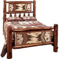 Buy cheap Bedroom Furniture Adirondack Traditional Bed from wholesalers