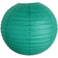 Buy cheap 10 Teal Blue Green Chinese Japanese Paper Lantern from wholesalers