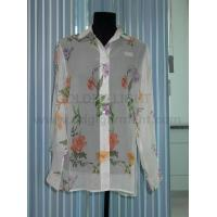 Buy cheap 9 printed silk crepe blouse from wholesalers
