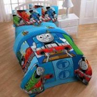 Buy cheap Thomas The Train Track Star Micro Comforter - Blue (twin) from wholesalers