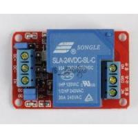 Buy cheap 24V 30A 1-Channel Relay Module with Optocoupler H/L Level Triger for Arduino goo from wholesalers